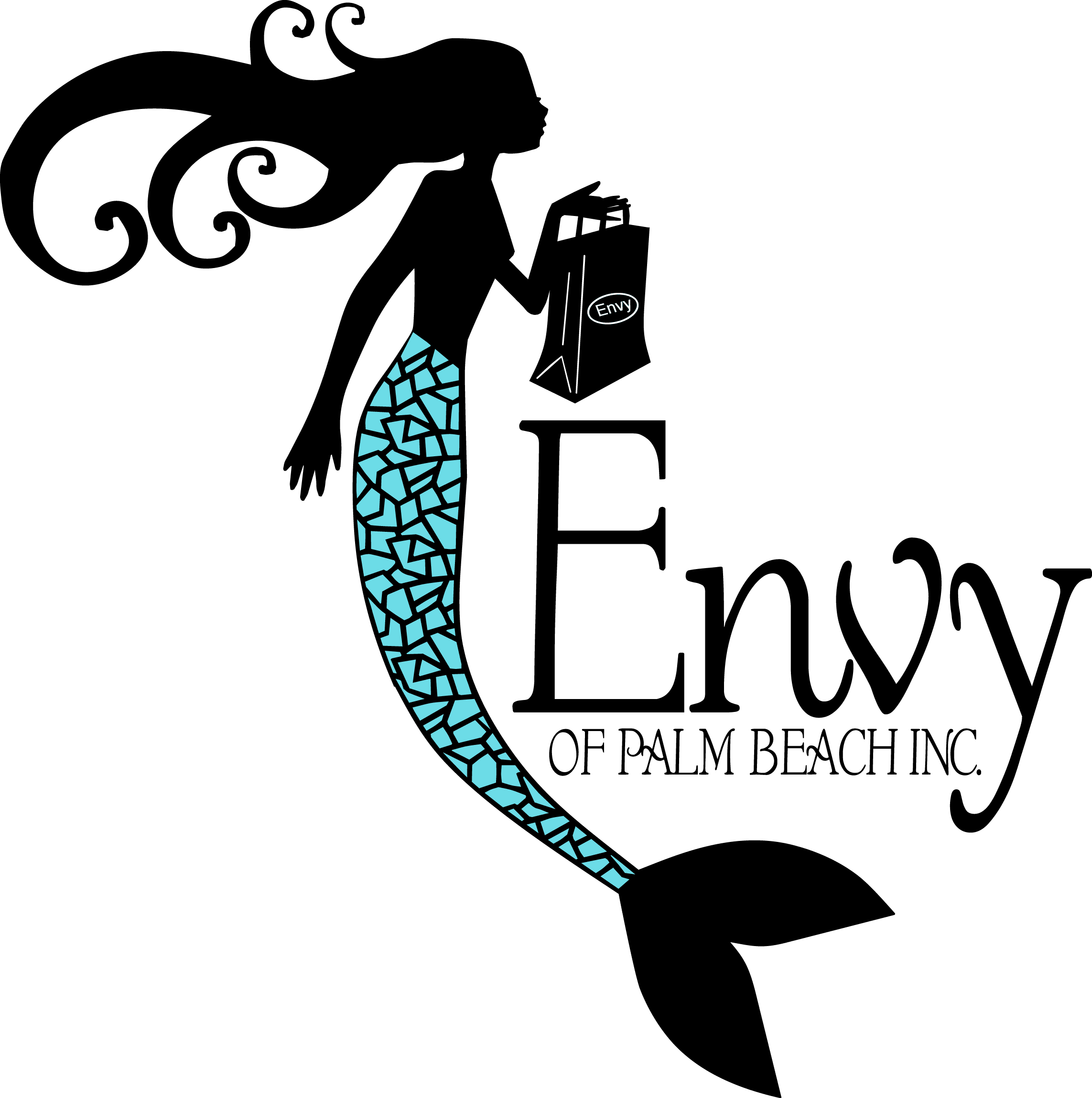 Envy Mermaid Logo